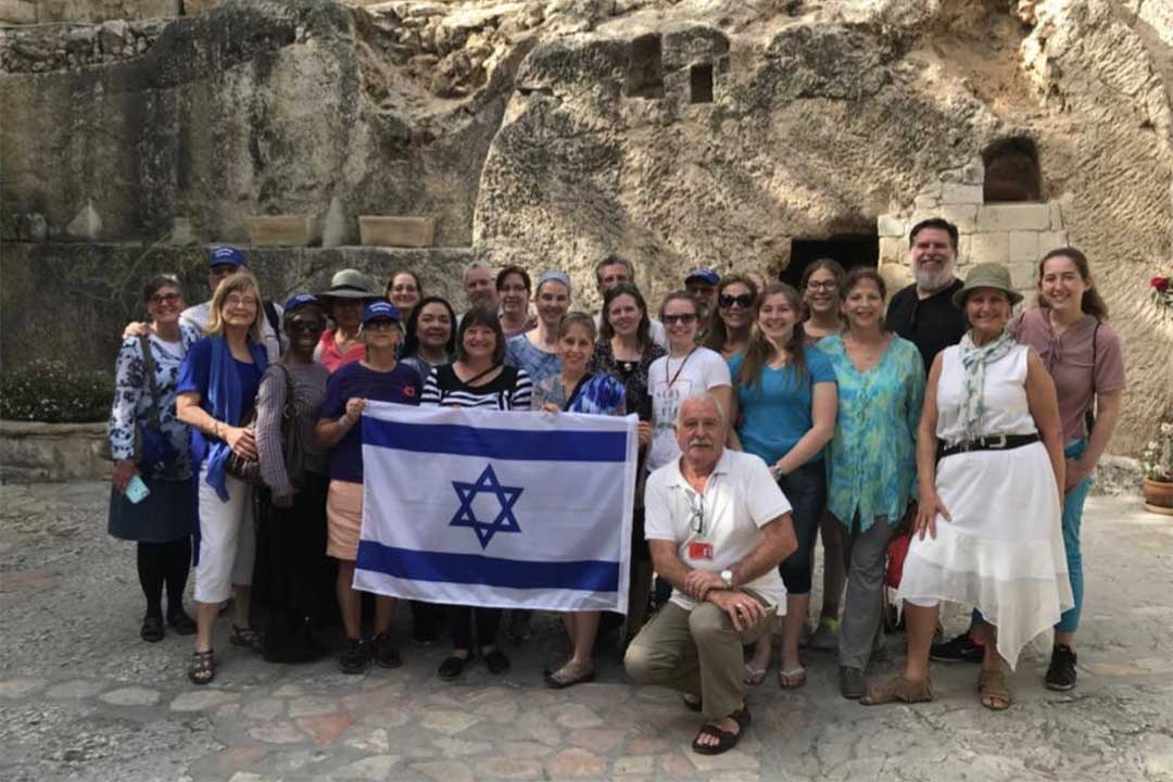 Group Pic to Israel